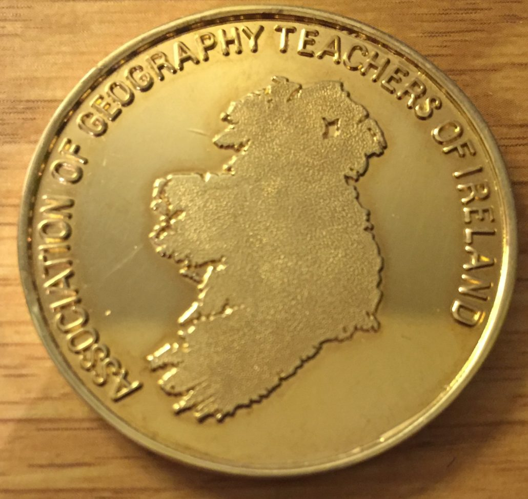 Geography Teachers of Ireland Award