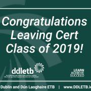 DDLETB-Leaving-Cert-2019-Congratulations