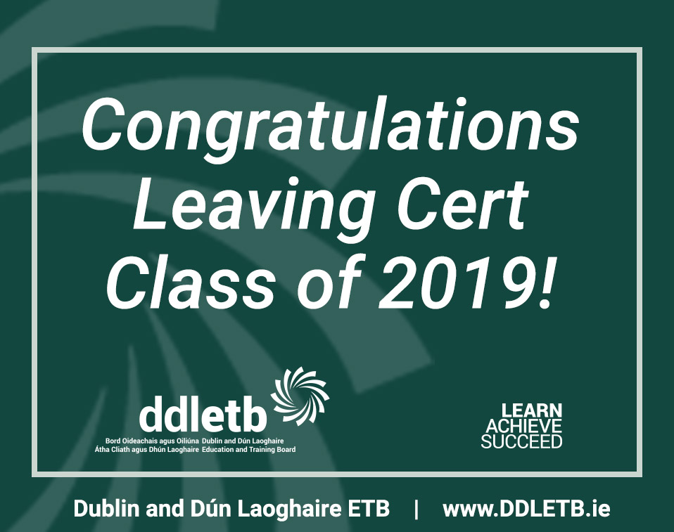 DDLETB-Leaving-Cert-2019-Congratulations