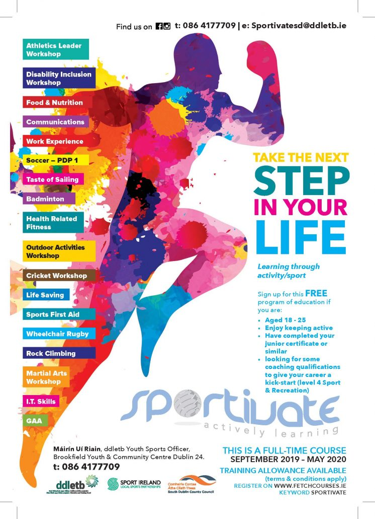 Sportivate 2019 Flyer